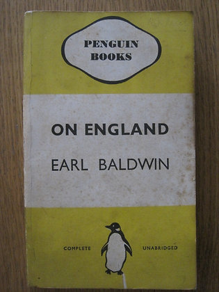 On England  by  Earl [Stanley] Baldwin