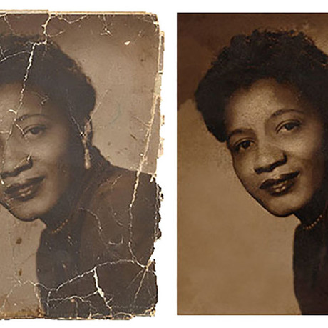 Restoring Damaged Photos - Bring Your Photos Back To Life