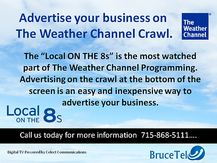 Advertise on the Weather Channel