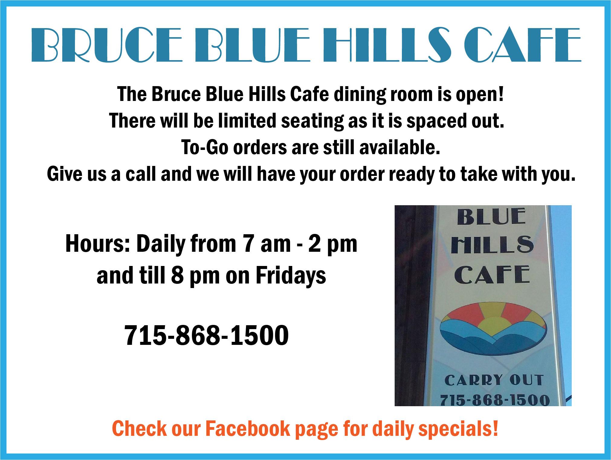 Blue Hills Cafe
