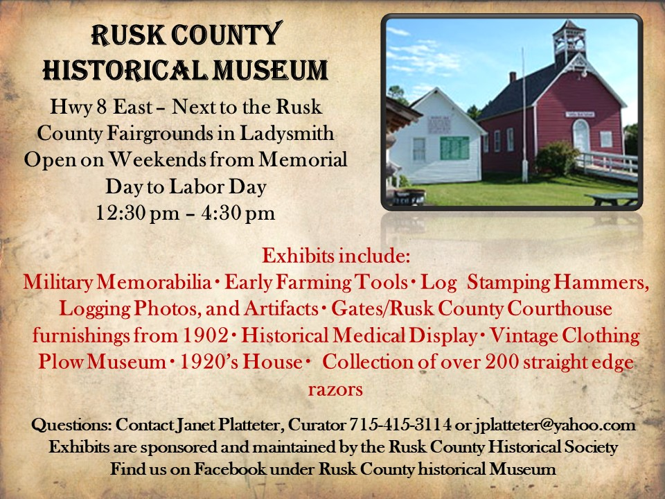 Rusk County Historical Society