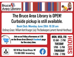 Bruce Area Library - July