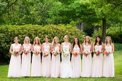 25-Arlington Hall Wedding; Blush, Ivory, & Coral Wedding