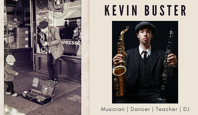 """KEVIN """"MUSCLE MOUTH"""" BUSTER"""