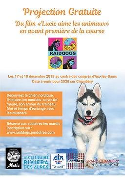 flyer course scolaire projection film A5