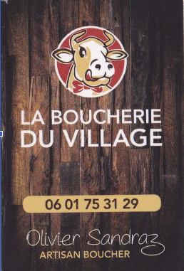 Boucherie du village