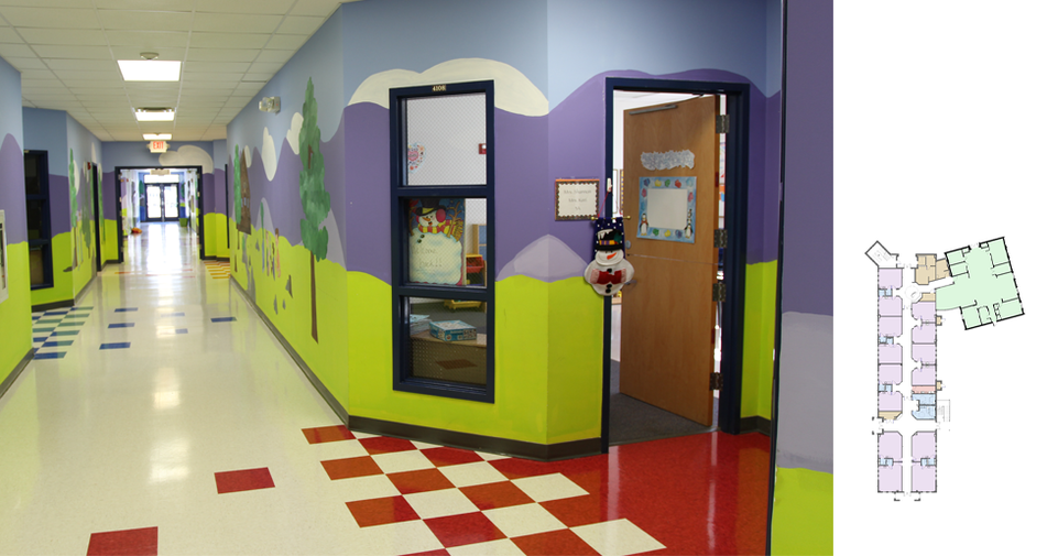 Nuese Christian Academy - Corridor and P
