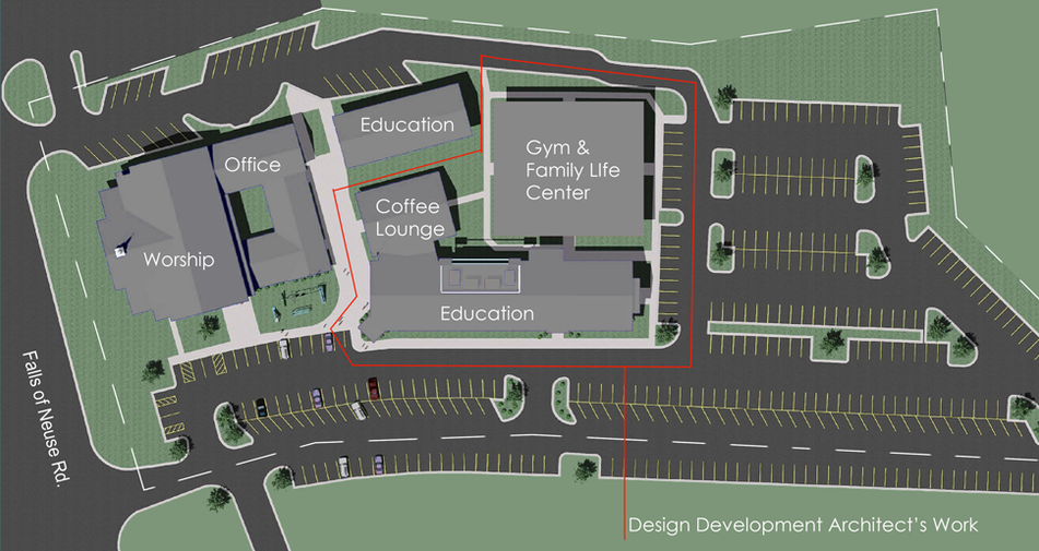 Nuese Christian Academy - Site Plan (970