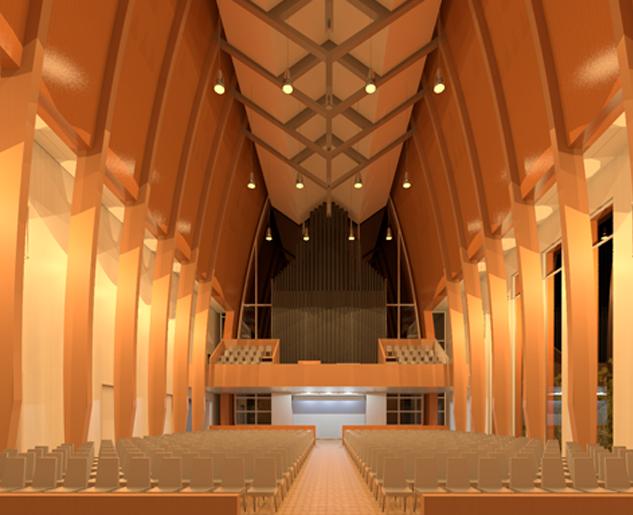 Catholic Church Concept