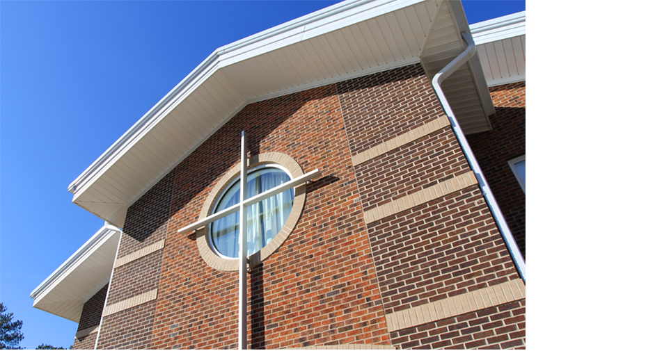 Nuese Christian Academy - Cross Window (