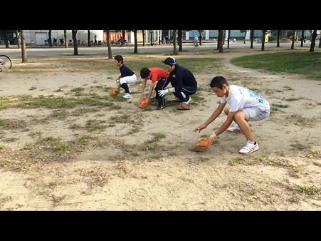 大阪や兵庫などの関西で守備専門野球教室・野球塾