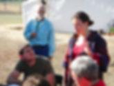 Marisha teaches in Montana with Skeeter