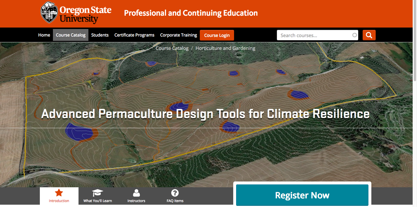 Advanced Permaculture Design For Climate Resilience