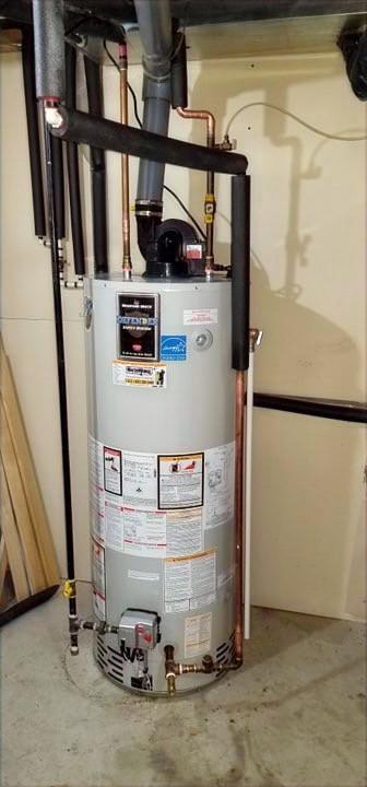 50 gallon Power Vented Bradford White