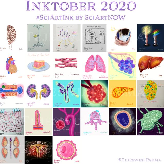 Inktober2020_Collage