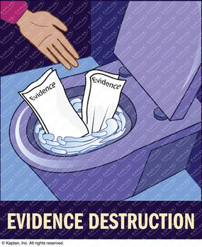 Evidence Destruction