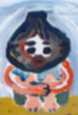 ヴォル君、22.7×15.8㎝、キャンバスにアクリル、2018.JPG