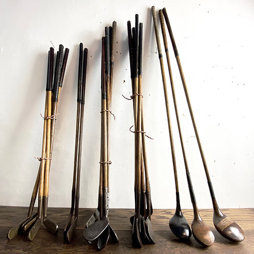 Vintage Hickory Shafted Golf Club