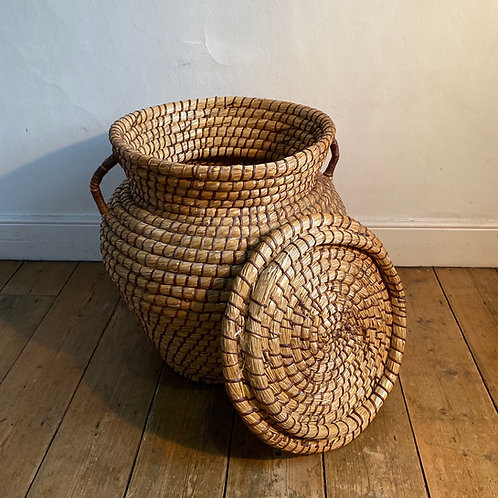 Vintage Rush Snake Charmer Basket