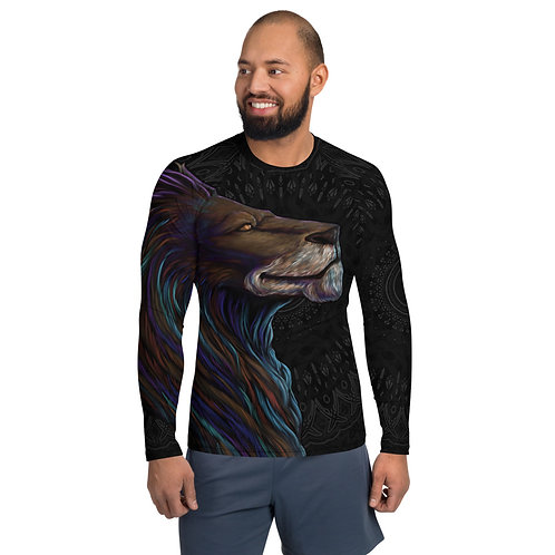 Interstellar Leo C1V1 Men's Rash Guard