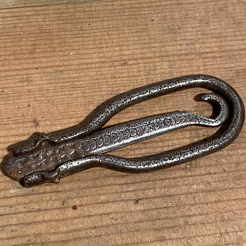 Folding Antique Steel Buttonhook