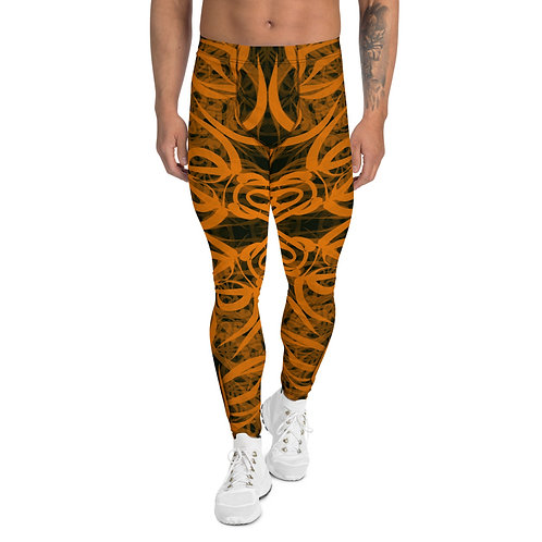 19CH21 Spectrum Gold Men's Leggings