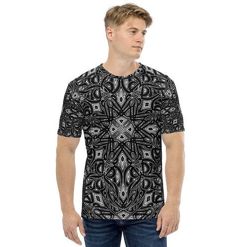 19G21 Oddflower Dahlia Men's T-shirt