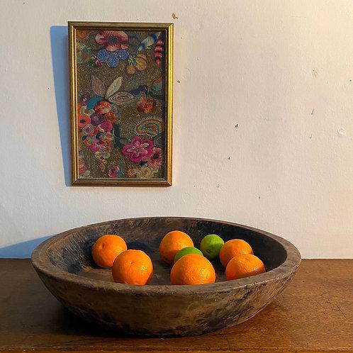 Wooden Rajasthani Bowl