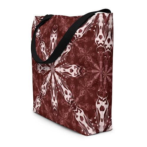 1X17 2021 2Red Beach Bag