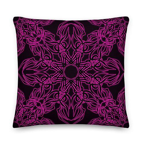 19Y21 Neon Ladies Night Premium Pillow