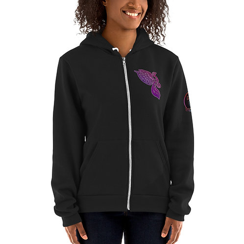 The Dove Lavenrose Portal Hoodie sweater