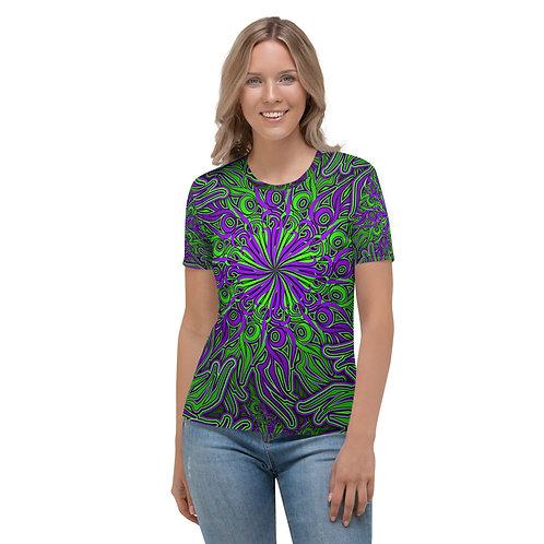 17Q21 OddSpectrum Sour Grape Women's T-shirt
