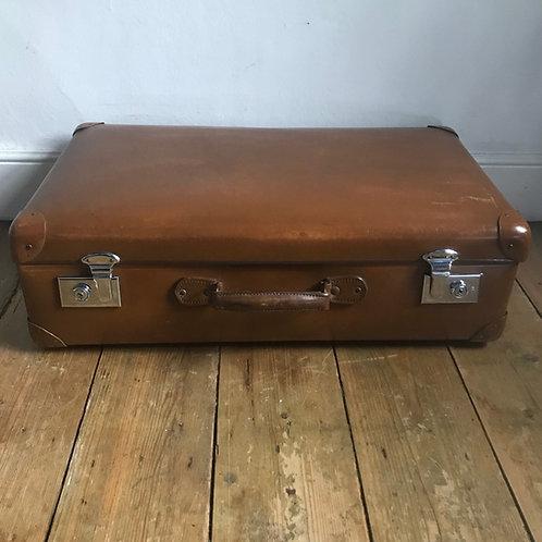Vintage Globe Trotter Suitcase