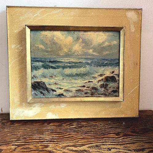 1950's Seascape in Oils