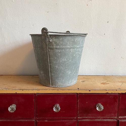 Vintage Galvanised Bucket