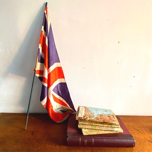 Antique Silk Union Jack