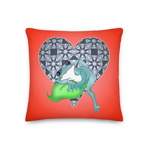 Taylor [Red] Premium Pillow
