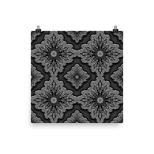 70 Oddflower Tile 2021 | Matte finish Print