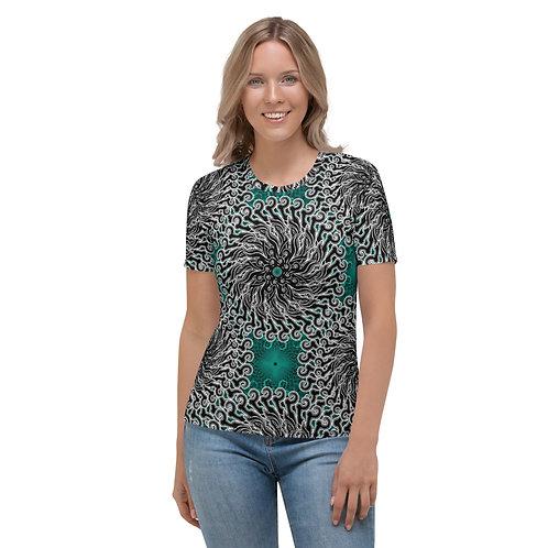 11K21 Oddflower Jade Vine Women's T-shirt