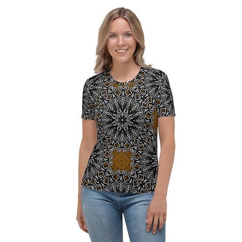 10J21 Oddflower Sunflower Women's T-shirt