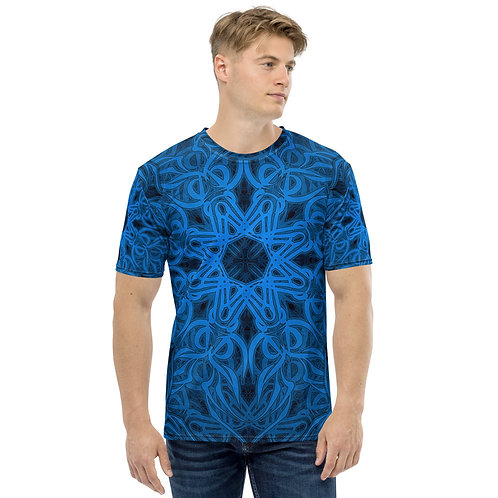 19P21 OddSpectrum Blue Men's T-shirt