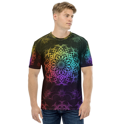 119 17 Stained Glass Colorwild I Men's T-shirt