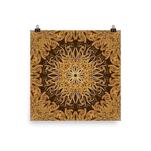 9W21 Spectrum Gold | Matte finish Print