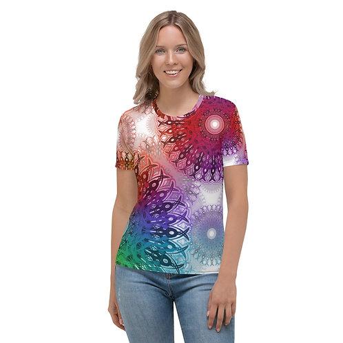 4B21V3 Spectrum White Women's T-shirt