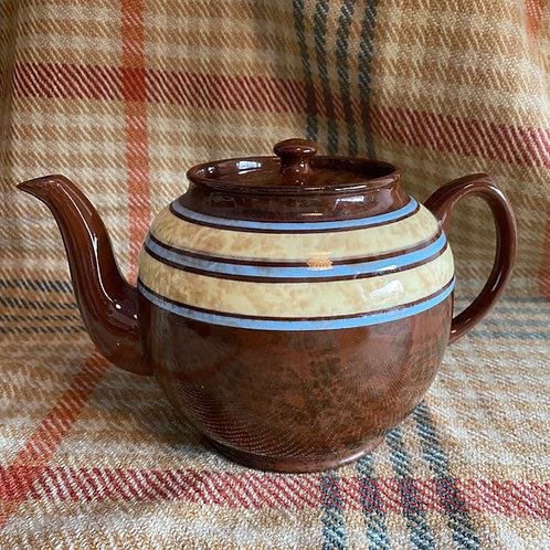 Large Sadler Brown Betty Teapot
