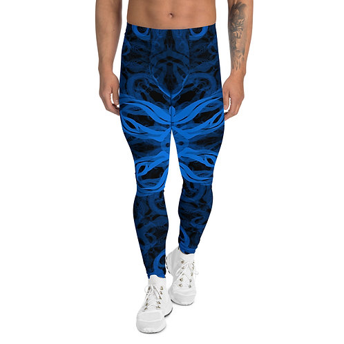 10E21 Spectrum Aquamarine Men's Leggings
