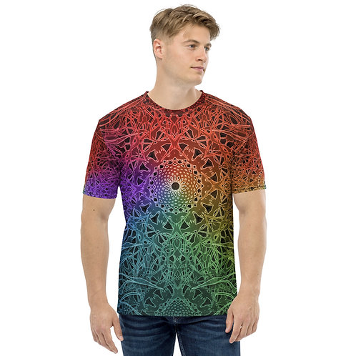 23R21 OddSpectrum Colorwild Men's T-shirt