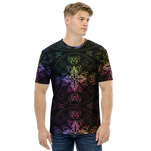 140 Wind Compass Colorwild Men's T-shirt
