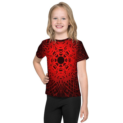 1V21 Spectrum Red Kids T-Shirt