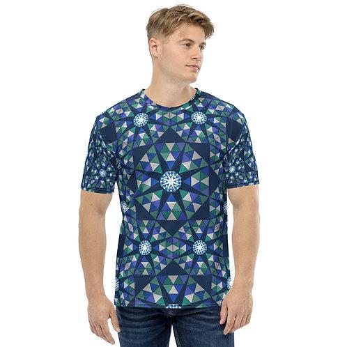 Gay Pride Tile Men's T-shirt